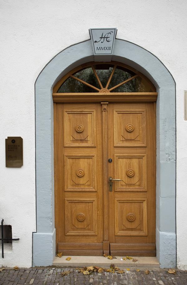 Heinrich-Schütz-Haus Weißenfels | Eingangsportal