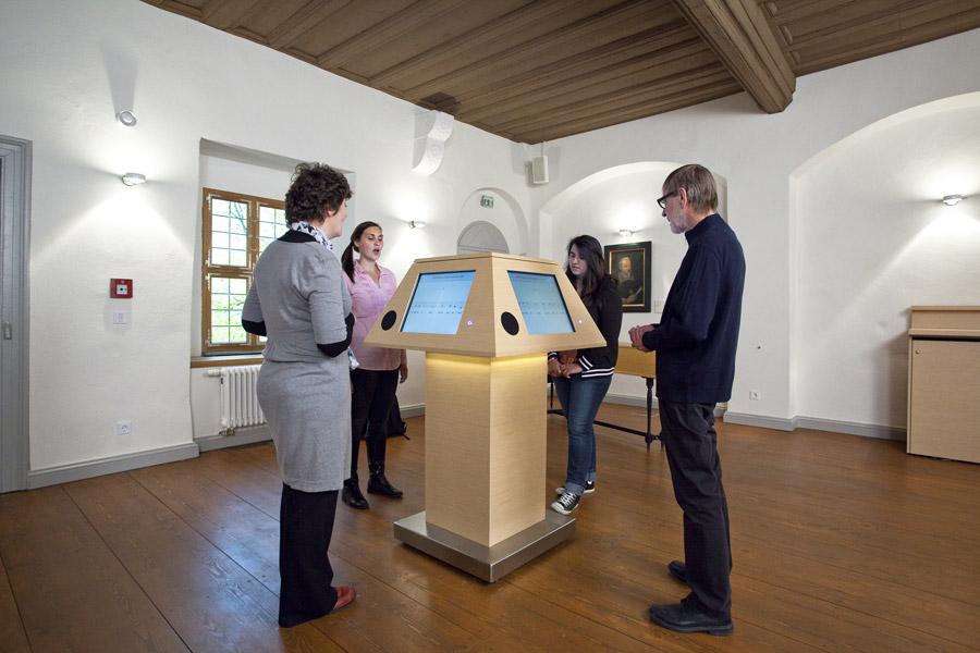 Heinrich-Schütz-Haus Weißenfels | Unser singendes Notenpult