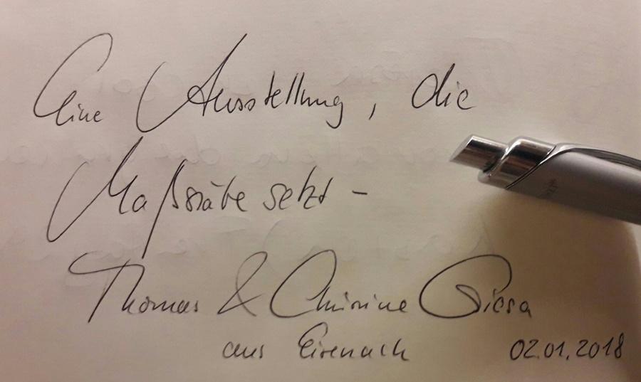 Heinrich-Schütz-Haus Weißenfels | Thomas und Christine Giesa, Januar 2018