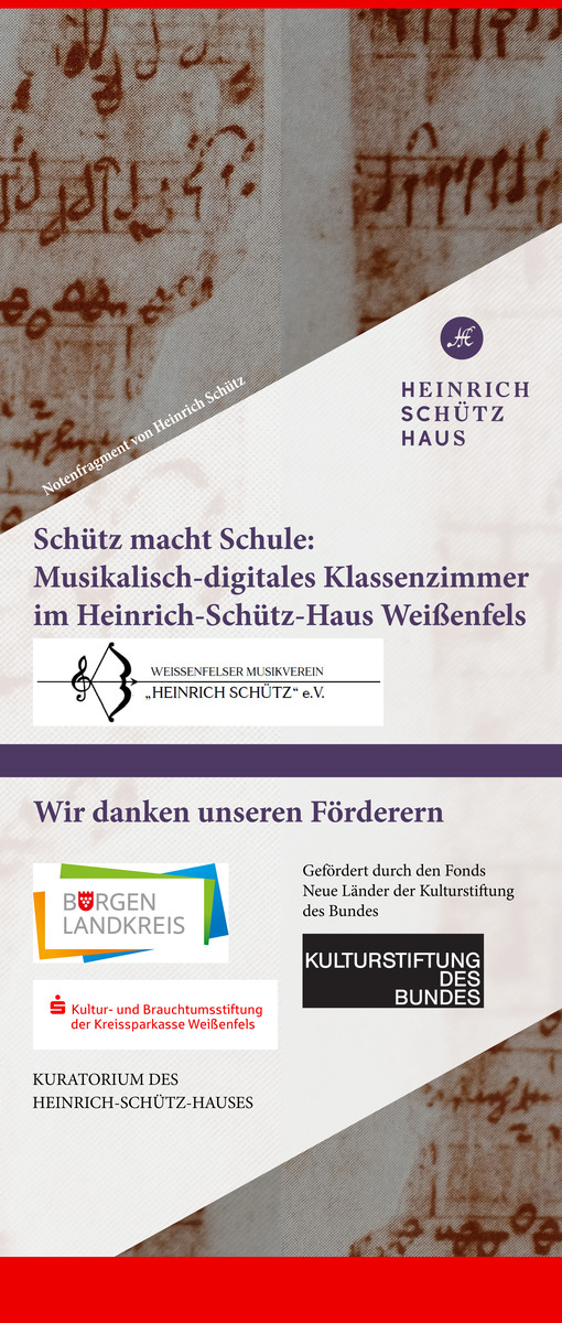 Heinrich-Schütz-Haus Weißenfels | Musikwerkstatt