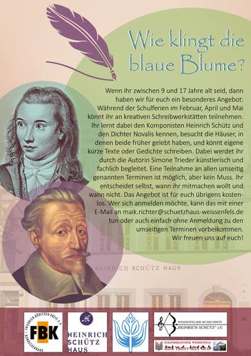 Heinrich-Schütz-Haus Weißenfels | Wie klingt die blaue Blume?